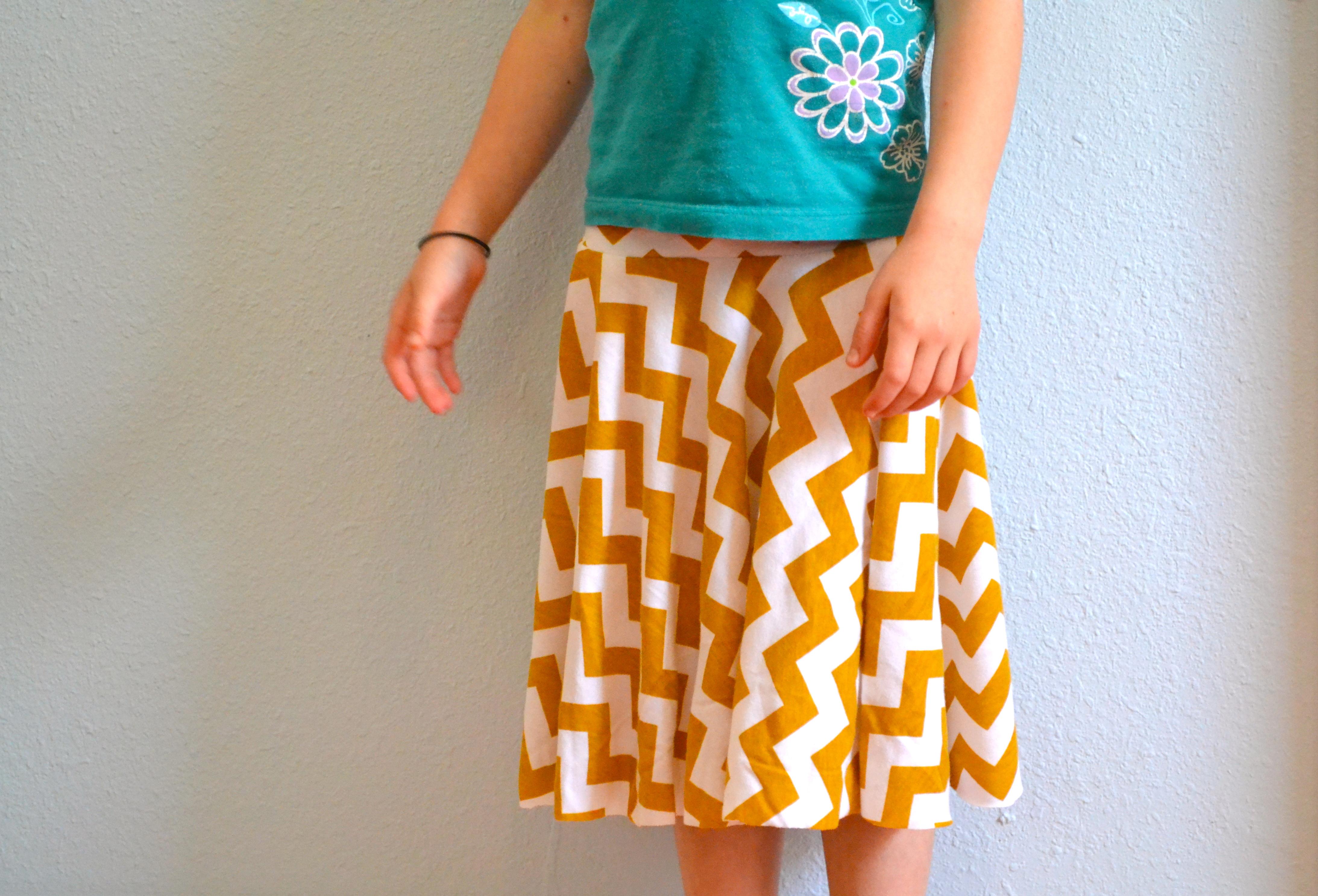 3085de7ed5 Comments. View Comments. Chevron Circle Skirt: KCW Spring